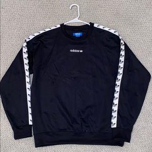 Adidas reflective sleeve pullover